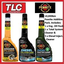 Penrite 10000km Service Pack Engine Flush Total System Clean & 3x Injector Clean