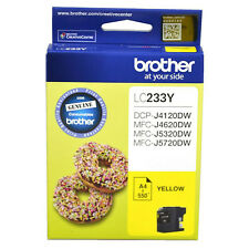 GENUINE Original Brother Ink Cartridge Toner LC233Y YELLOW Inkjet 550 Pages