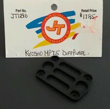 JT RACING PRODUCTS KYOSHO MP 7.5 RC BLACK ANODIZED ALUMINUM DIFF PLATE
