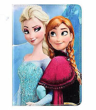 Girl IPAD 5 Samsung T230 Galaxy tab 4 Frozen PU leather Case Protector Cover