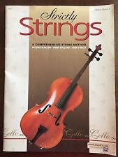 Strictly Strings Cello Method Book 1 Dillon Kjelland O'Reilly Aunt Rhodie Mozart