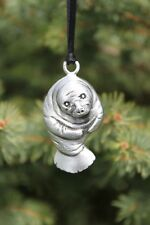 Hastings Pewter Lead Free Pewter Manatee Ornament sea cow gift animal USA  NEW