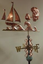Unique Stormy Seas Copper weathervane,Quality Parts,Sold As Shown