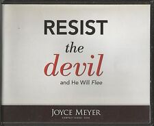 RESIST THE DEVIL AND HE WILL FLEE       4 CDs      Joyce Meyer