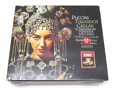 Turandot, Puccin Opera Callas EMI CD Set, Brand New, Sealed