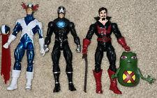 Marvel Legends Retro X-Factor Cyclops, Black Tom Cassidy, Havok & Doop Figures