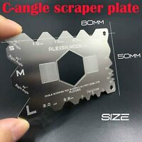 C-angle Scraper Plate Grinding Tool Pour Gundam Armor Military Model Durable VS