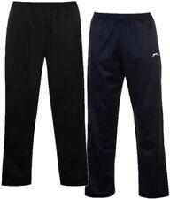 ? SLAZENGER POLY Herren lange Trainings Anzug Hose Jogging Sport Schlaf Fitness