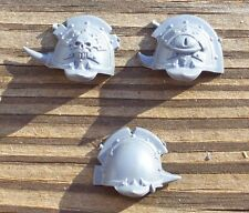 40K Chaos Space Marine Terminator Lord Shoulder Pads Bits