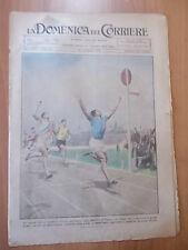 DOMENICA del CORRIERE 25/1921 Successo dell'atletica italiana, Breno (Brescia)