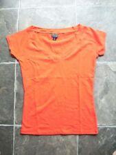 Cotton V-Neckline Short Sleeve Tops & Blouses for Women