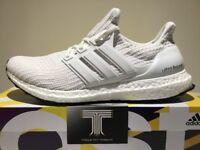 Adidas Ultraboost 4.0 Triple White ~ BB6168 ~ Uk Size 8