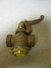 "NEW United Brass Whistle Valve 1/4"" for Live Steam Boiler Free Shipping"