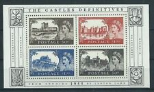 GB MNH STAMP MINIATURE SHEET 2005 50th Anniversary Castle Definitives SG MS2530
