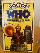 doctor who book - GENESIS OF THE DALEKS
