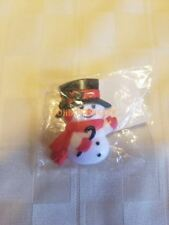 Hallmark Christmas Happy Snowman Pin Broche in package