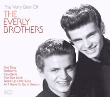 The Very Best of the Everly Brothers  2 CD Wake Up Little Susie Bird Dog +more