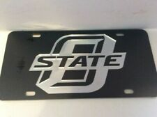 Oklahoma State University Cowboys Collegiate Embossed Aluminum Automotive Novelty License Plate Tag Sign