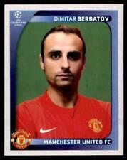 Panini Champions League 2008-2009 - Manchester United Dimitar Berbatov No.22