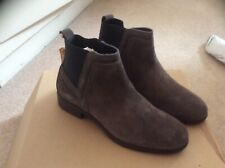 Fat Face Calshot Chelsea Boots Size 6 Eu Size 39 Brown Suede New In Box