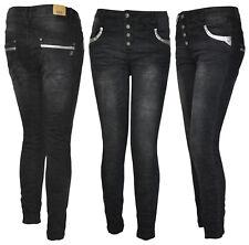 Karostar by Lexxury Boyfriend Jeans Baggy Pailletten Herbst 40 42 44 46 48 50