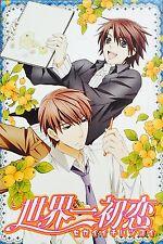 "Japanese BL Anime Sekai Ichi Hatsukoi Onodera Takano POSTER #5 11.5""x17"""