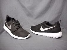 Nike Roshe One Running Sneakers Mesh Black Platinum White Womens Size 7.5 NWOB!