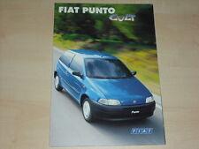 63367) Fiat Punto Cult Prospekt 04/1998