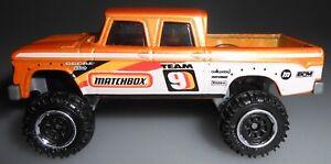 Matchbox 1968 Dodge D-200 Orange Loose 2020