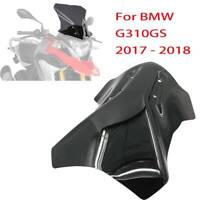Motocycle Windshield WindScreen For BMW G310GS G 310 GS 2017-2018 Black