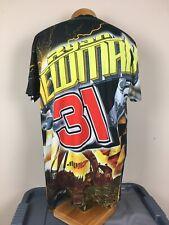 NASCAR Ryan Newman #31 All Over Print T-Shirt Men's Size Large  NWOT