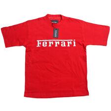 Ferrari Camiseta hombre SCUDERIA FÓRMULA 1 Team Tee F1 Rojo Camisa top algodón
