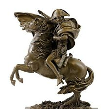 Bronzefigur - Napoleon Bonaparte auf Pferd - sign. Claude