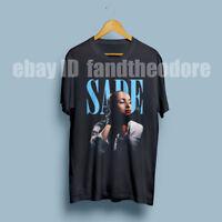 Sade singer songwriter composer T-Shirt Size : S-M-L-XL-XXL