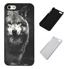 Lone Wolf Stunning Animal plastic phone Case Fits iPhone