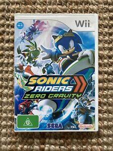 Sonic Riders Zero Gravity - Nintendo Wii PAL