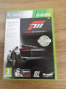 Forza Motorsport 3 Ultimate Collection Xbox 360 pre owned
