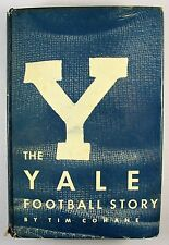Vintage 1951 The Yale Football StoryTim Cohane 1st Edition HBDJ Football History