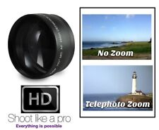 Pro HD 2.2x Telephoto Lens For Sony HDR-XR520 HDR-XR500 HDR-CX12