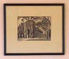 Signed Print Julius J. Lankes American Woodblock Artist Signed in Pencil