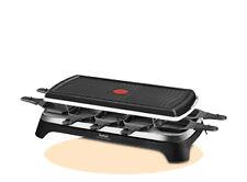 Tefal Re 4588 INOX Raclette Grill für 10 Personen
