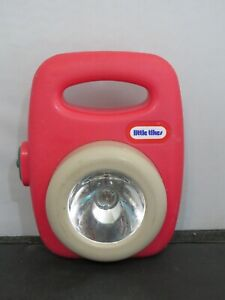 Little Tikes Lantern Flashlight Red  toy vintage works