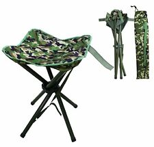 1pcs Folding Stool Slacker Chair Lightweight Foot Rest Seat For Camping Fishing