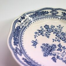 More details for be-ro flour centenary cake plate 1979 mason's vintage baking cake stand rare!