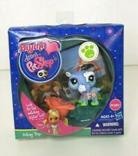 Blythe Littlest Pet Shop Postcard Pets-Hiking Trip - #1850 Hippo