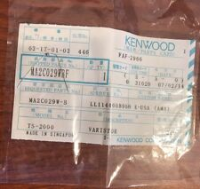 Kenwood TS-2000 Varistor MA2C029WBF