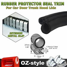 5M Car Rear Trunk Door Protects Strip Anti-scratch Rubber Seal Trim Weatherstrip
