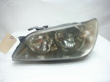 2001 LEXUS IS300 A/T DRIVER LEFT HEADLIGHT ASSEMBLY OEM 2002 2003 2004 2005