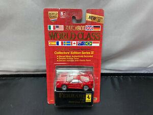 Vintage 1989 Matchbox World Class #10 Ferrari F40 New 1/64 Diecast