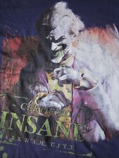 The Joker T-shirt Certified Insane Arkham City size S